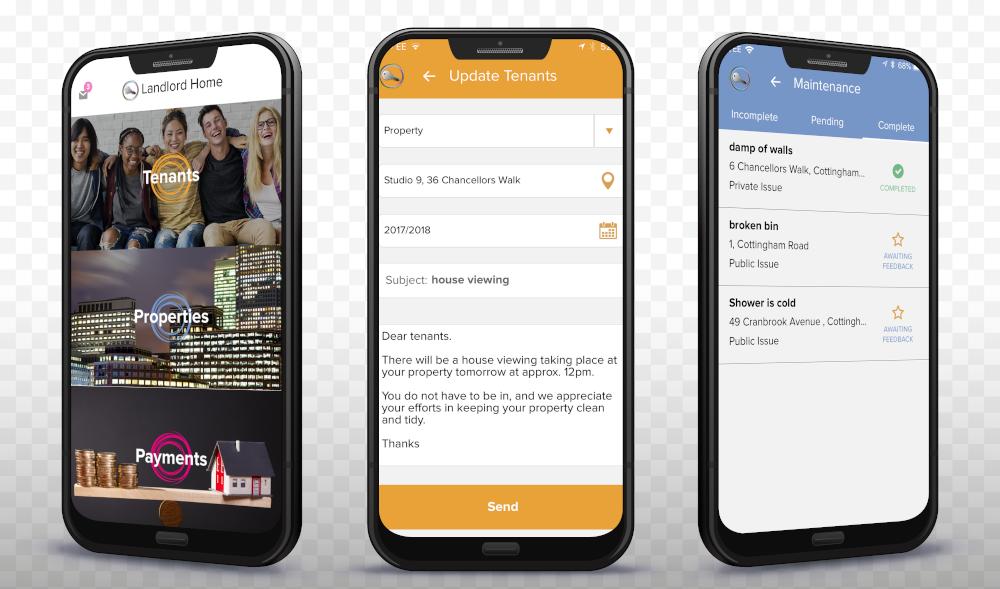 Property Management Software - App Screenshots